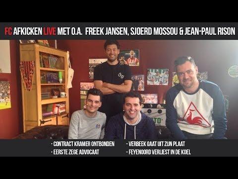 FC AFKICKEN LIVE - Met o.a. Freek Jansen, Sjoerd Mossou & Jean-Paul Rison