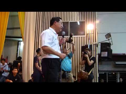 Penang Chief Minister Lim Guan Eng Thanks Voters In Ipoh Post-GE13
