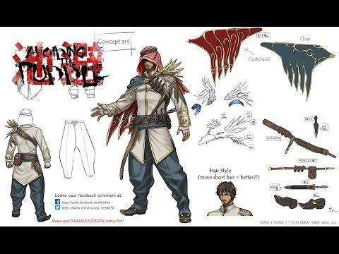 Tekken 7 - Arab Character Concept Art Revealed