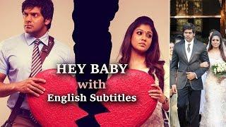 Raja Rani - Hey Baby with English Subtitle (Full Video) - Raja Rani (Tamil) - Arya & Nayanthara