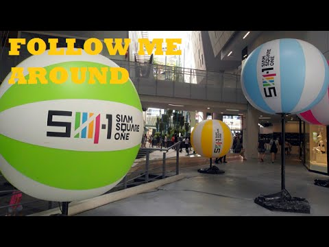 Follow me around: Siam Square One, Bangkok, Thailand