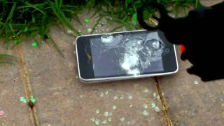 Destroying An iPod Touch With An Airsoft Gun!?  Part 3
