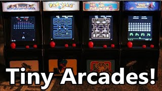 Worlds Smallest Tiny Arcade Games: Pac-Man, Ms. PacMan, Galaxian & Space Invaders