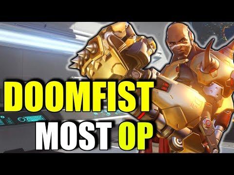 DOOMFIST - STRONGEST NEW HERO YET??? | Doomfist Gameplay Abilities Reveal PTR - Overwatch