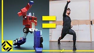 VFX Artist + $20K Motion Capture Suit = Childhood Dream