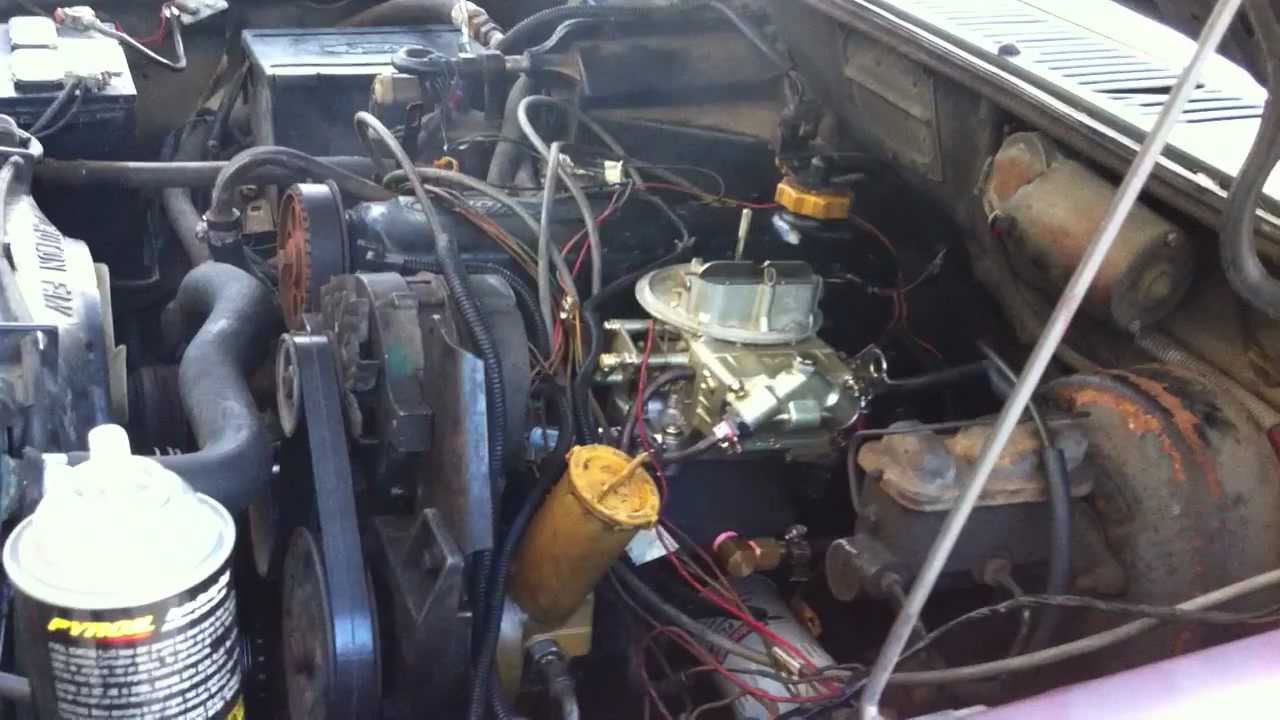 Ranger With Omc 2 3 Intake And Holley 350