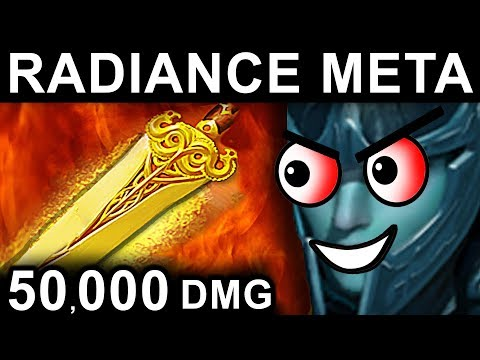 RADIANCE PHANTOM ASSASSIN DOTA 2 PATCH 7.06 NEW META PRO GAMEPLAY