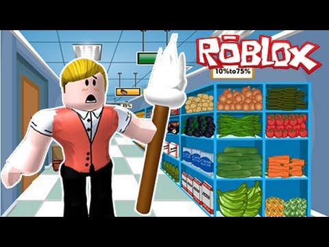 ESCAPE THE SUPERMARKET!   Roblox