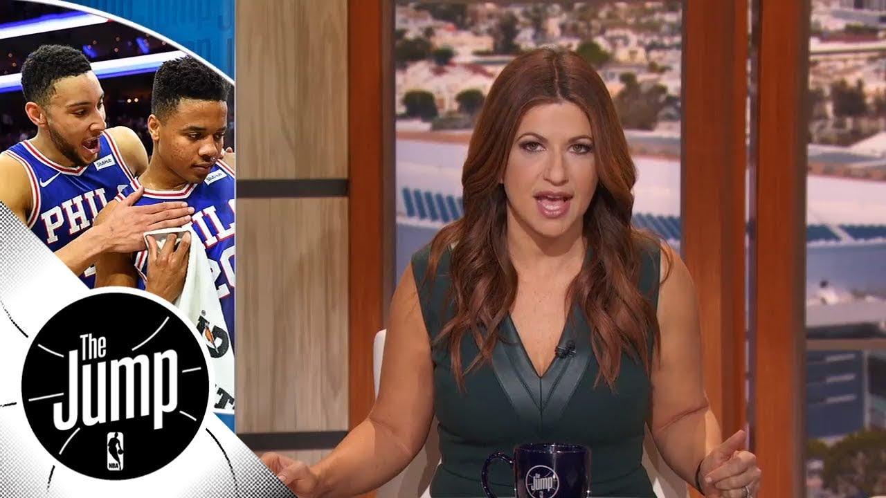 Rachel Nichols: Markelle Fultz's return to 76ers was 'worth the wait' | The Jump | ESPN
