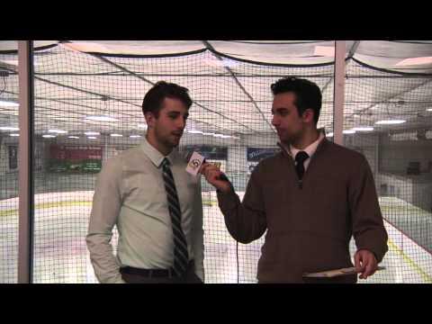 Rowan Hockey vs Penn State University Post Game Interviews