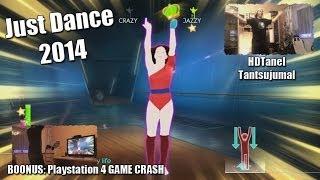 Just Dance 2014 - Playstation 4 - Tantsujumal HDTanel + Boonus PS4 GAME CRASH (1080p) HD!