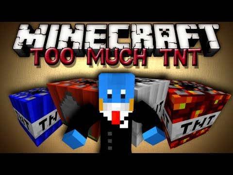 Minecraft Mods - TOO MUCH TNT!!!