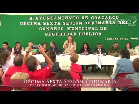 Coacalco TV - 16ª Sesión Ordinaria del Consejo Municipal de Seguridad Pública