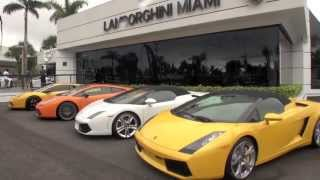 Lamborghini Miami showroom