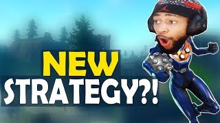 NEW STRATEGY?! | TO INFINITY AND BEYOND | HIGH KILL FUNNY GAME - (Fortnite Battle Royale)