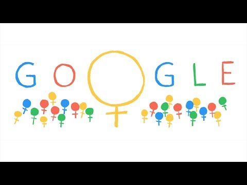 International Women's Day Doodle 2014 Music Videos