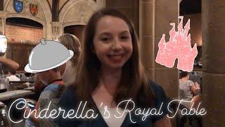 I went inside Cinderella's Castle at WDW | Cinderella's Royal Table Vlog | Gabriella Bay