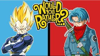 Download Lagu Vegeta And Trunks Play Would You Rather? Gratis STAFABAND