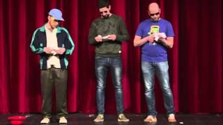 3T-čkári v zázname z priameho prenosu z 8.1.2016 z Mestského divadla Žilina