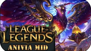 ERSTES GAME MIT CODY... FESTIVAL ANIVIA MID | League of Legends Gameplay deutsch