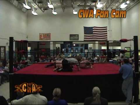 Robbie Cassidy vs. Kole Layton King from CWA in Bean Station, TN