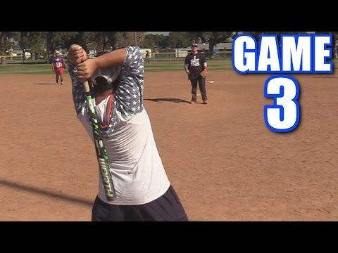 WEIRDEST SWING EVER! | Offseason Softball League | Game 3