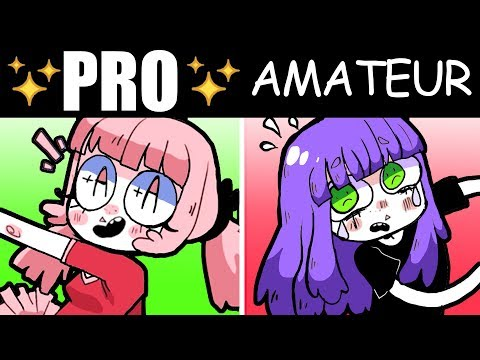 5 Biggest Differences Between Pro Artists And Amateurs How To