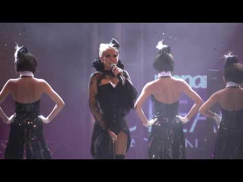 Xuxa no Monange Dream Fashion Tour em São Paulo
