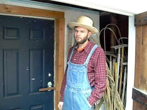 Farmer Paul S Walk In Cooler Youtube