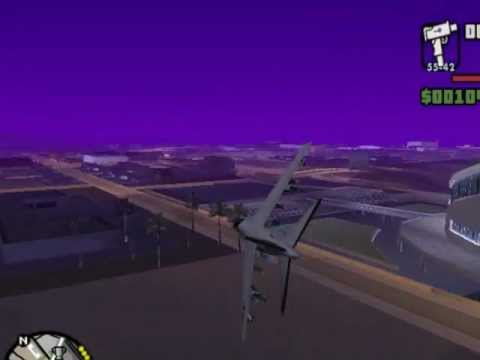 Gta San Andreas Pc How To Fly Jet Planes [hd] Tamilanda,and Attacking Military Head Quartress. video