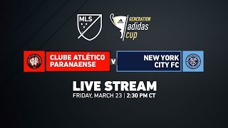Atletico Paranaense vs New York City FC - Champions Divisio