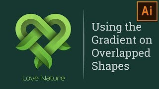 How to Design a Overlapping Gradient Logo in Illustrator Tutorial