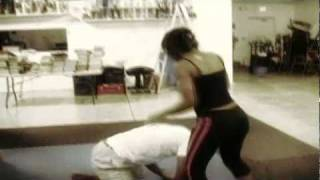 Mysfit Training Sheila Mocombe Vs Woody Deant