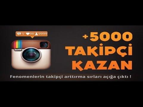 Instagram 5k Takipçi Bugu Hilesi Günde 5k Garanti 2017