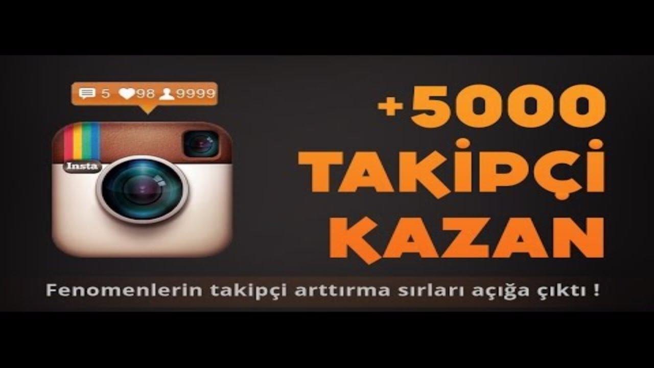 Instagram Takipçi Hilesi 1 Günde 5K Takipçi Kastık! 2016-2017 ...