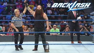 WWE BackLash 2016: Randy Orton VS Bray Wyatt - FULL MATCH - (SIMULACION PS4)