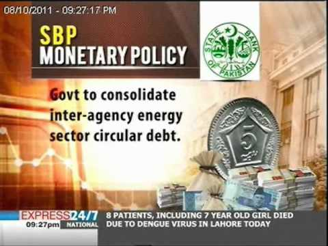 An overview: SBP monetary policy