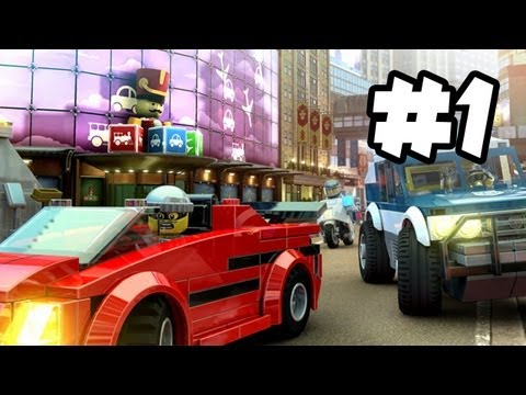 LEGO City Undercover Gameplay Walkthrough Part 1 – CHASE VS REX!! – Lego City Gameplay (Wii U HD)