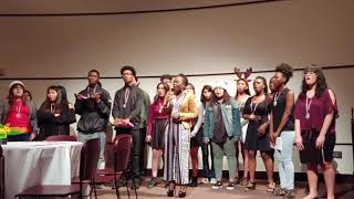 Stafford Student Choir 2018 at HCC West Loop Campus