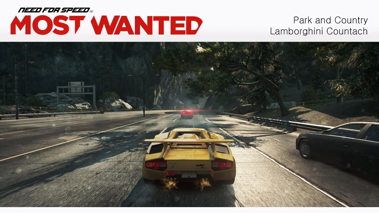 need for speed most wanted 2012 park and country lamborghini countach. Black Bedroom Furniture Sets. Home Design Ideas