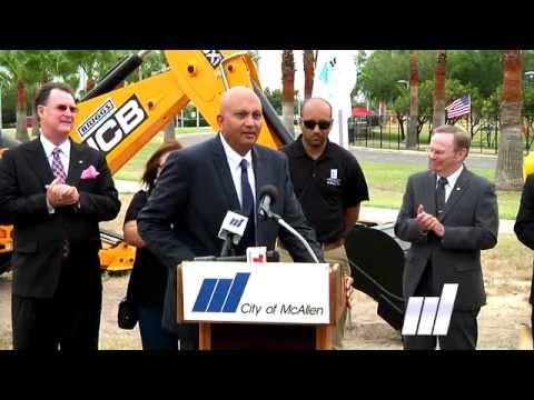 Embassy Suites Ground Breaking in McAllen