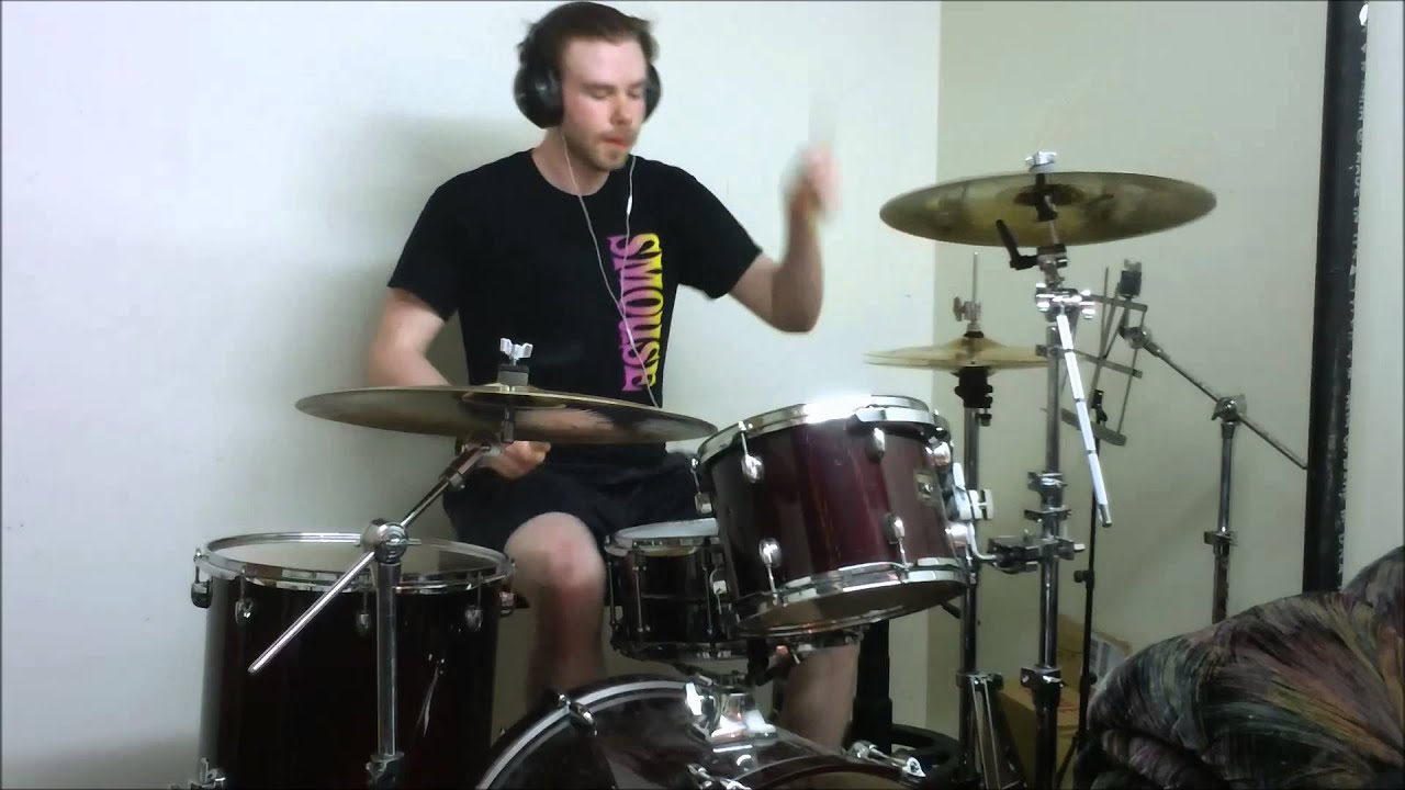 how to make your drum cover video look cool