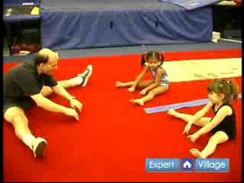 How to Teach Preschool Gymnastics : Warm Up Exercises for ...