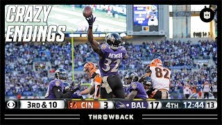 A CRAZY Way to Extend a Game! (Bengals vs. Ravens 2013, Week 10)