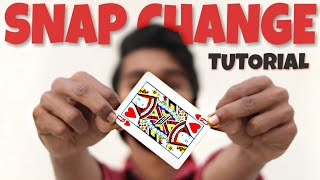 Snap Change | Card Colour Change - TUTORIAL