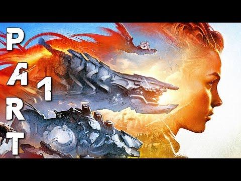 HORIZON ZERO DAWN Walkthrough Gameplay Part 1 - Aloy (PS4 Pro)