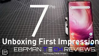 OnePlus 7 Pro Unboxing and First Impressions