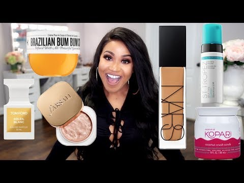 Products You NEED for Spring & Summer   Perfume, Body Care + Makeup!