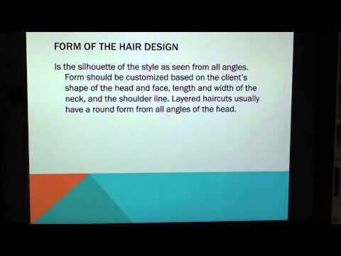 (14) Cosmetology: Principles of Hair Design THEORY for state board exam