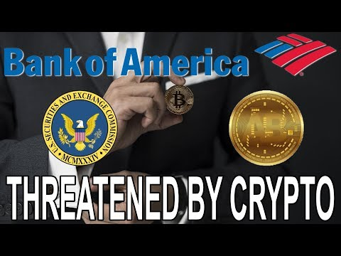 Bank of America Threatened By Cryptocurrency Like Bitcoin